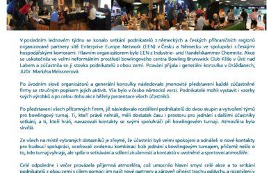 Česko-saské setkání podnikatelů v Ústí nad Labem