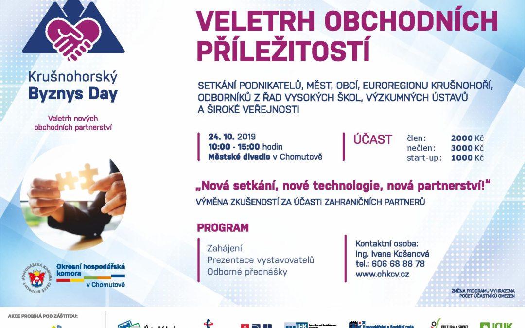 Krušnohorský Byznys Day 2019