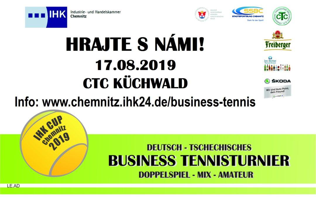 Německo – český tenisový business open turnaj čtyřher