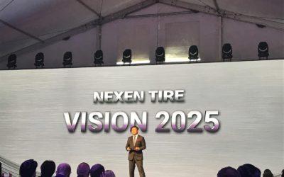Otevření největšího evropského výrobce pneu Nexen Tire