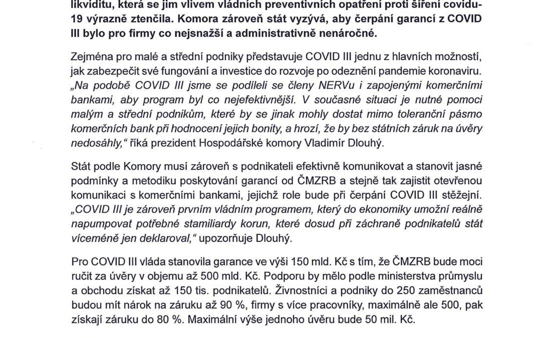 PROGRAM COVID III