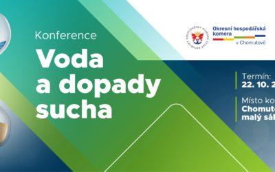 """KONFERENCE """"VODA A DOPADY SUCHA"""""""