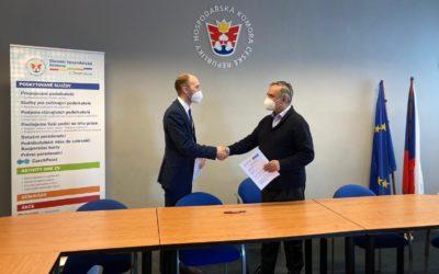Dohoda o spolupráci OHK v Chomutově a Euroregion Krušnohoří