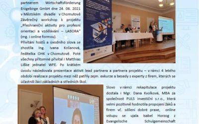 Závěrečný workshop v rámci projektu Labora